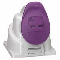 Socle saillie P17 - IP44 - 32 A - 20/25 V~ - 2P - plast (055256)