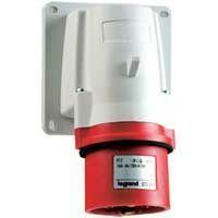 Socle de connecteur P17 - IP44 - 32 A - 380/415 V~ - 3P+N+T - plast (058289)