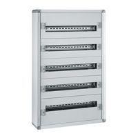 Coffret distribution métal XL³ 160 - tout modulaire - 5 rangées - 900x575x147 (020005)