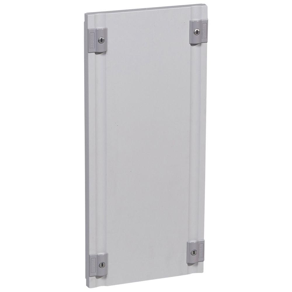 Plastron plein isolant XL³ 400 - pour gaines à câbles - H 550 mm (020199)