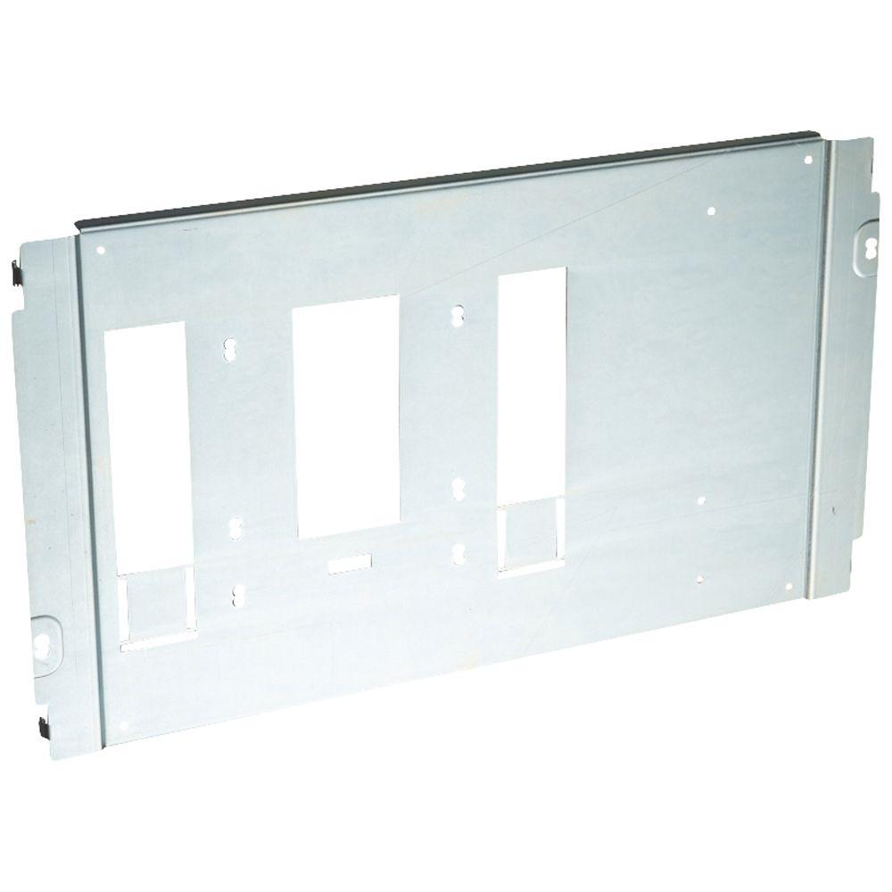 Platine réglable XL³ 4000 - DPX 630 extractible/débrochable - horizontal (020798)