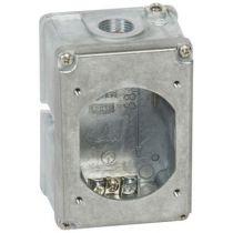 Boîtier réversible Hypra - IP44 - 16 A - 2P+T - métal (052039)
