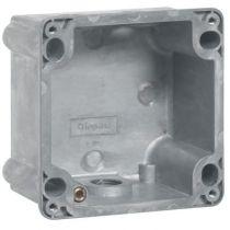 Boîtier réversible Hypra - IP44/55 - 16 A - pour socles 2P+T et 3P+T - métal (052059)