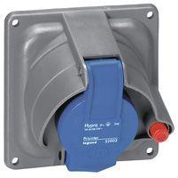 Socle tableau Prisinter Hypra IP44/55 - 63 A - 200/250 V~ - 2P+T - plast (053601)