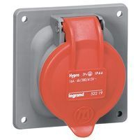 Socle tableau Hypra - IP44 - 63 A - 380/415 V~ - 3P+T - plast (053823)