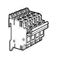 Coupe-circuit sectionnable - SP 38 - 3P+N équipé - cartouche ind 10x38 (021405)