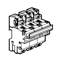 Coupe-circuit sectionnable - SP 58 - 3P - cartouche ind 22x58 (021604)