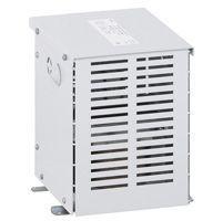 Transfo isolement tri protégé - prim 400 V/sec 400 V + N - 16 kVA - écran (042827)