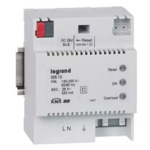 Alimentation modulaire BUS/KNX - 320 mA - 4 modules (003512)