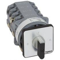 Commutateur moteur 3P - démarreur 1 vitesse - PR 40 - 8 contacts - fix vis (027527)