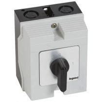 Commutateur - inter marche/arrêt - PR 21 - 3P - 3 contacts - boîtier 96x120 mm (027722)