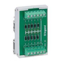 Module 10 diodes cathode commune - fixation rail sym ou asym (036630)