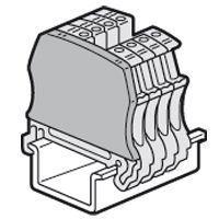 Cloison terminale pr bloc jonc Viking 3 à vis - sectionnable/à fonction pas 6/5 (037555)