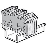 Cloison terminale pr bloc jonc Viking 3 ressort - 1 entrée/ 1 sortie - pas 5 (037586)