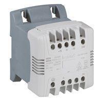 Transfo cde et signal mono bornes à vis - prim 230 V/sec 24 V - 400 VA (044216)