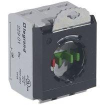 Osmoz compo - sous-ensemble bloc - tête non lum - à vis - 2NO+NF - 3 postes (022977)