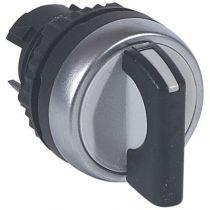 Osmoz compo - bouton tournant non lum - manette - 2 posit. fixes (0 à 12h) 90° (023918)