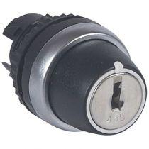 Osmoz compo - bouton tournant non lum - clé - 3 posit. d et g - 45° (023961)