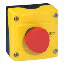Osmoz - boîte à bouton équipée - 1 trou - coup de poing pousser-tourner (024212)