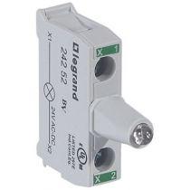 Osmoz boîte à boutons - bloc lum led pour tête - 12/24V~/= - vert (024252)