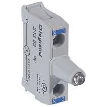 Osmoz boîte à boutons - bloc lum led pour tête - 12/24V~/= - bleu (024253)