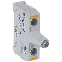 Osmoz boîte à boutons - bloc lum led pour tête - 230V~ - jaune (024274)