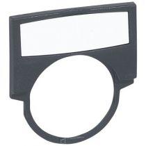 Osmoz étiquette - cadre + insert blanc - modèle large (024325)