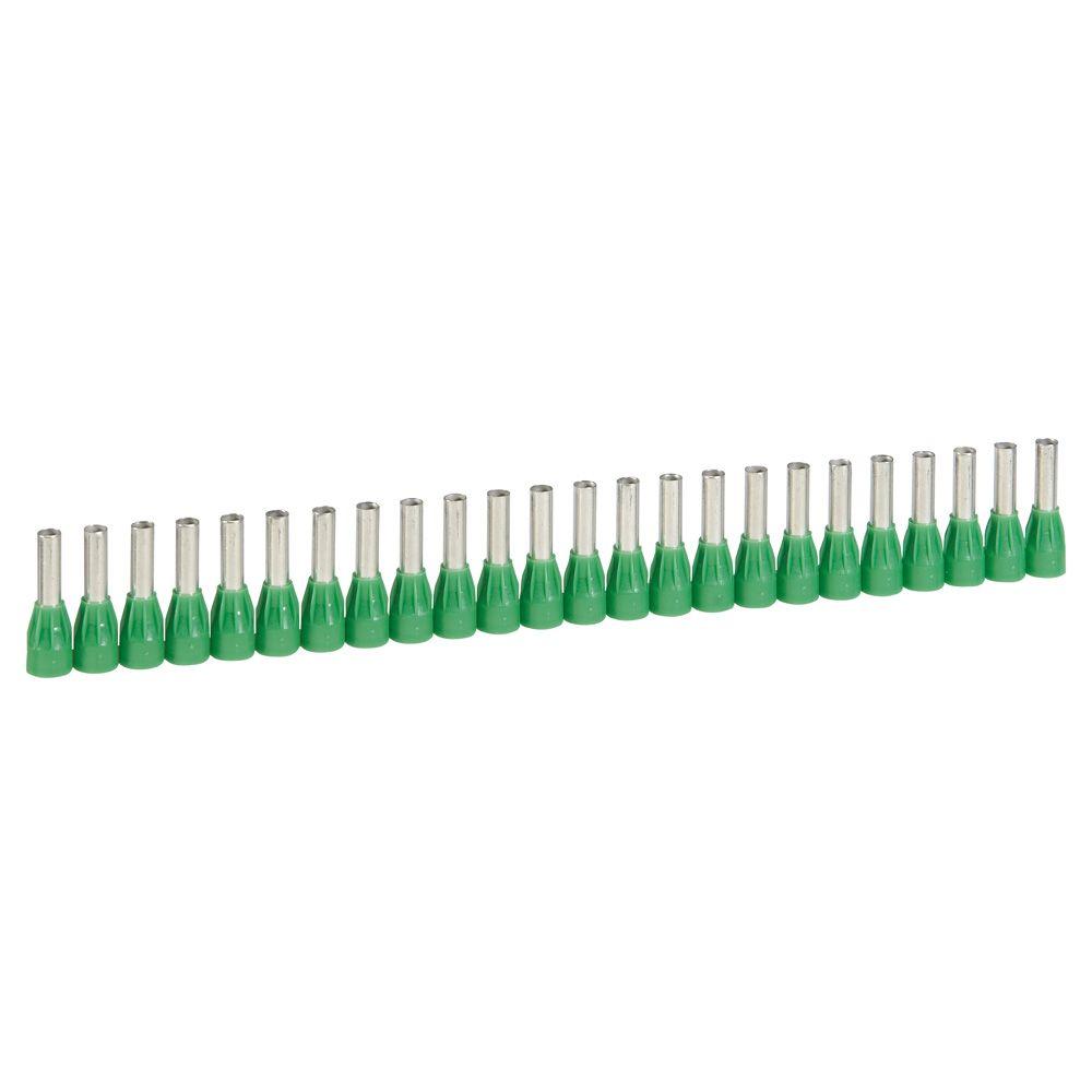Embout de câblage Starfix - pour conducteurs section 6 mm² - vert (037668)