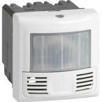 Inter détecteur présence et mouvement Prog. Mosaic -ECO 2-3 fils-2000W-blanc (078452)