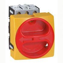 Inter sectionneur rotatif complet - encastré cadenassable - 3P - 32 A (022103)