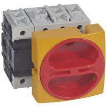 Inter sectionneur rotatif complet - encastré cadenassable - 4P neutre G - 80 A (022116)