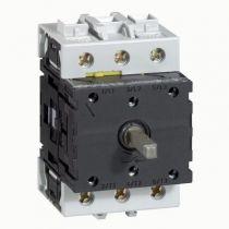Bloc nu - inter sectionneur rotatif - composable - 3P - 50 A (022140)