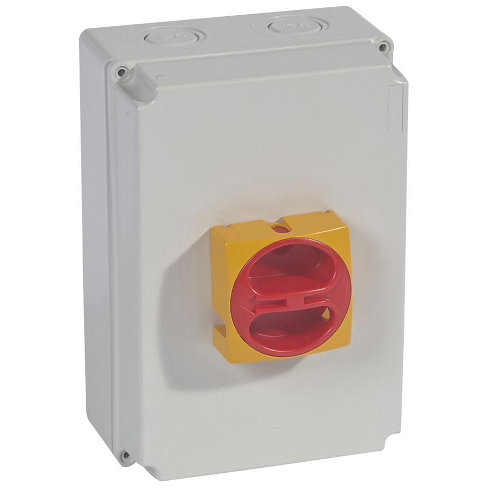 Interrupteur de proximité - 4P neutre G - 50 A (022185)