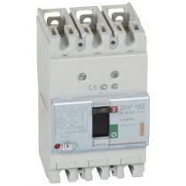 Disj puissance DPX³ 160 - magnéto-thermique - 25 kA - 3P - 25 A (420041)