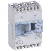 Disj puissance DPX³ 160 - magnéto-thermique diff - 36 kA - 4P - 40 A (420112)