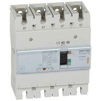 Disj puissance DPX³ 250 - magnéto-thermique - 25 kA - 4P - 250 A (420219)
