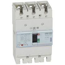 Disj puissance DPX³ 250 - magnéto-thermique - 50 kA - 3P - 160 A (420267)