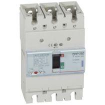 Disj puissance DPX³ 250 - magnéto-thermique - 50 kA - 3P - 200 A (420268)