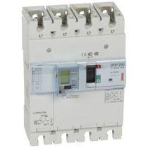Disj puissance DPX³ 250 - électronique diff - 36 kA - 4P - 250 A (420359)