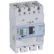 Disj puissance DPX³ 250 - électronique à unité de mesure - 25 kA - 3P - 100 A (420405)