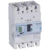 Disj puissance DPX³ 250 - électronique à unité de mesure - 70 kA - 3P - 160 A (420668)