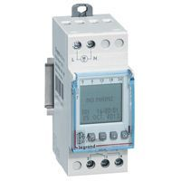 Inter horaire programmable digital - auto - multifonction -1 sortie 16A - 250V~ (412631)