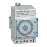 Inter horaire programmable analogique - auto - journalier - 3 mod (412823)