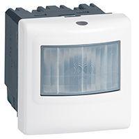 Inter détecteur de mouvements Prog. Mosaic - ECO 1 - 3 fils - 2000 W - blanc (078454)