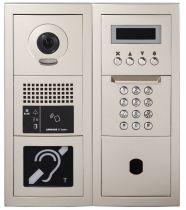 Platine de rue GT vidéo défilement des noms, accessibilité, modulaire avec boucle magnétique (200274)