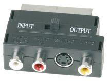 Adaptateur Peritel / 3 RCA + Svhs (725250)