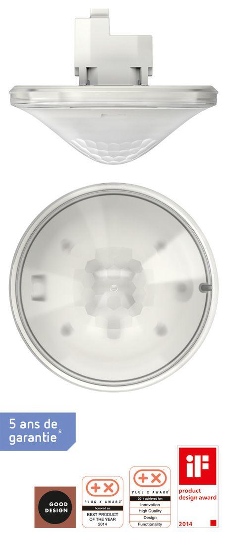 Détecteur présence 2c thePrema P 360° e blanc (2070105)