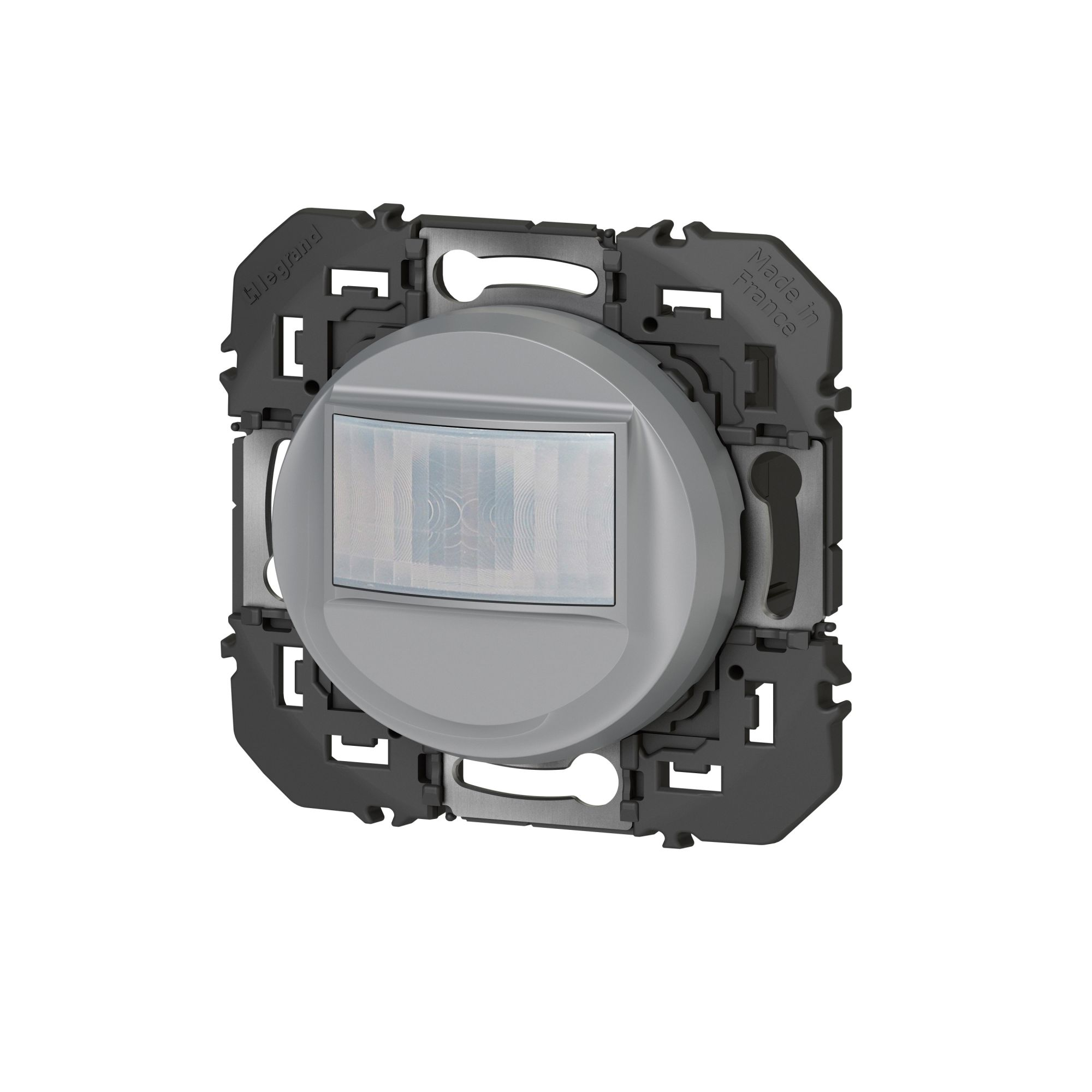 Interrupteur automatique dooxie 2 fils sans Neutre finition alu (095241)