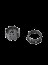 Accessoires pour moteur volets roulants : roue et couronne pour tube octogonal 60 mm (6357016)