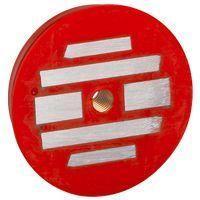 Aimant de fixation - pour boîte Batibox béton - 1200 N couleur rouge